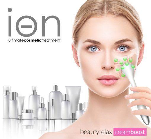 Kosmetiký přístroj BeautyRelax Creambooster