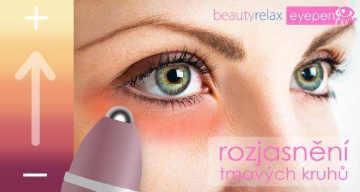 Kosmetický přístroj BeautyRelax Eyepen na tmavé kruhy pod očima