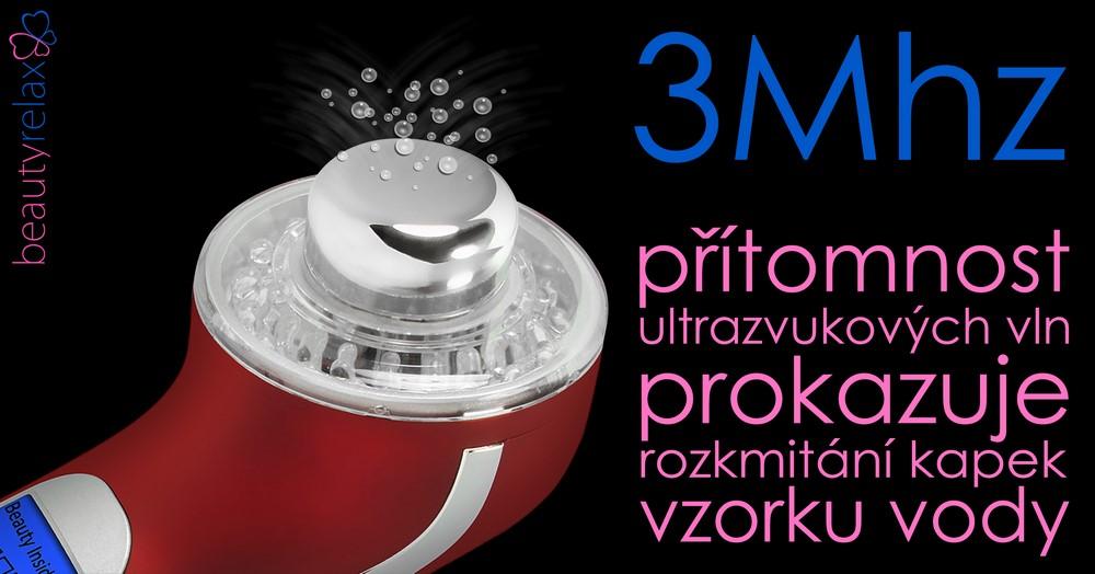 Ultrazvukový kosmetický přístroj s fotonovou terapií BR-1150