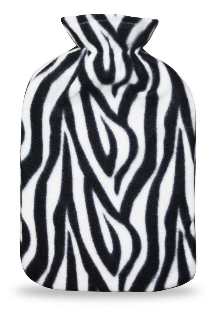 Termofor s návlekem 2L, zebra