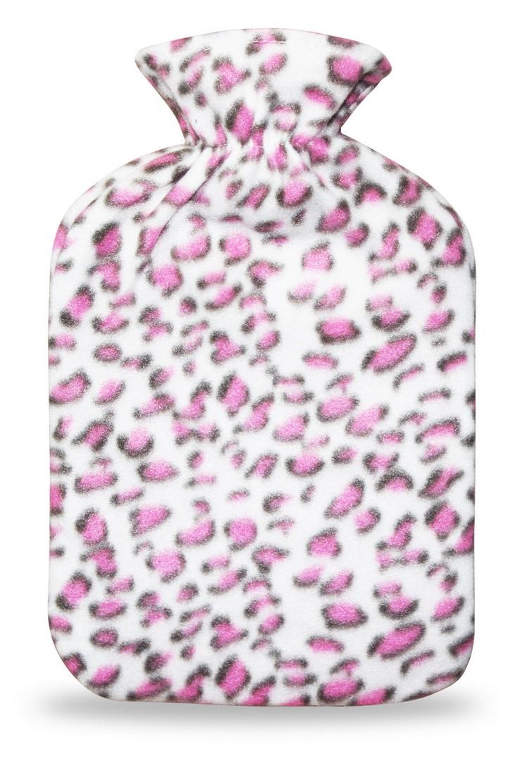 Termofor s návlekem 2L, růžová