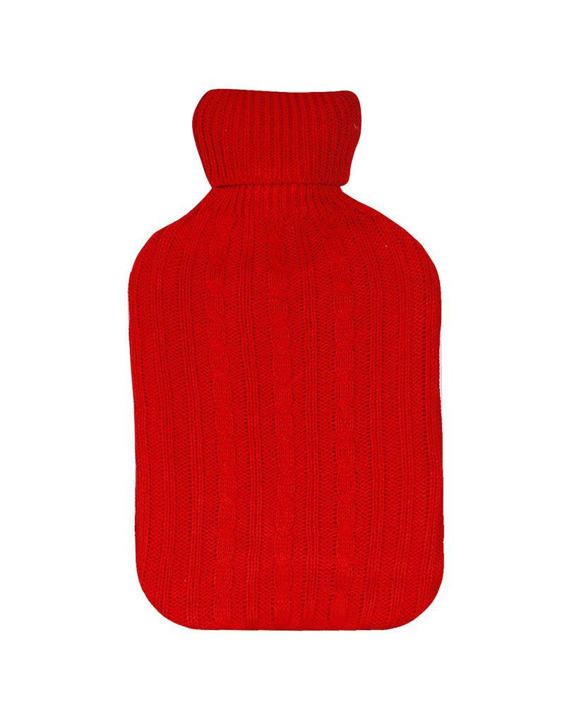 Termofor s návlekem 2L, červená