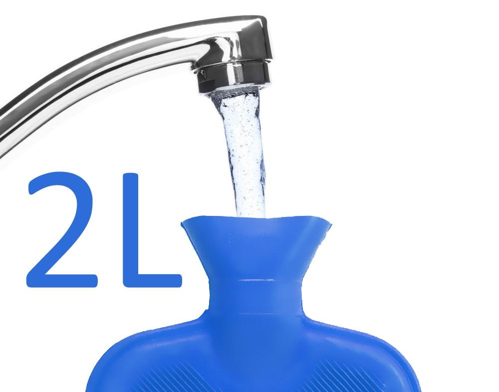 TERMOFOR ohřívací láhev 2L, modrá