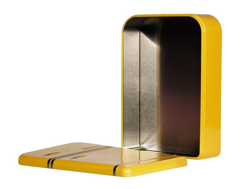 Úložná krabička lednice 25 cm, žlutá