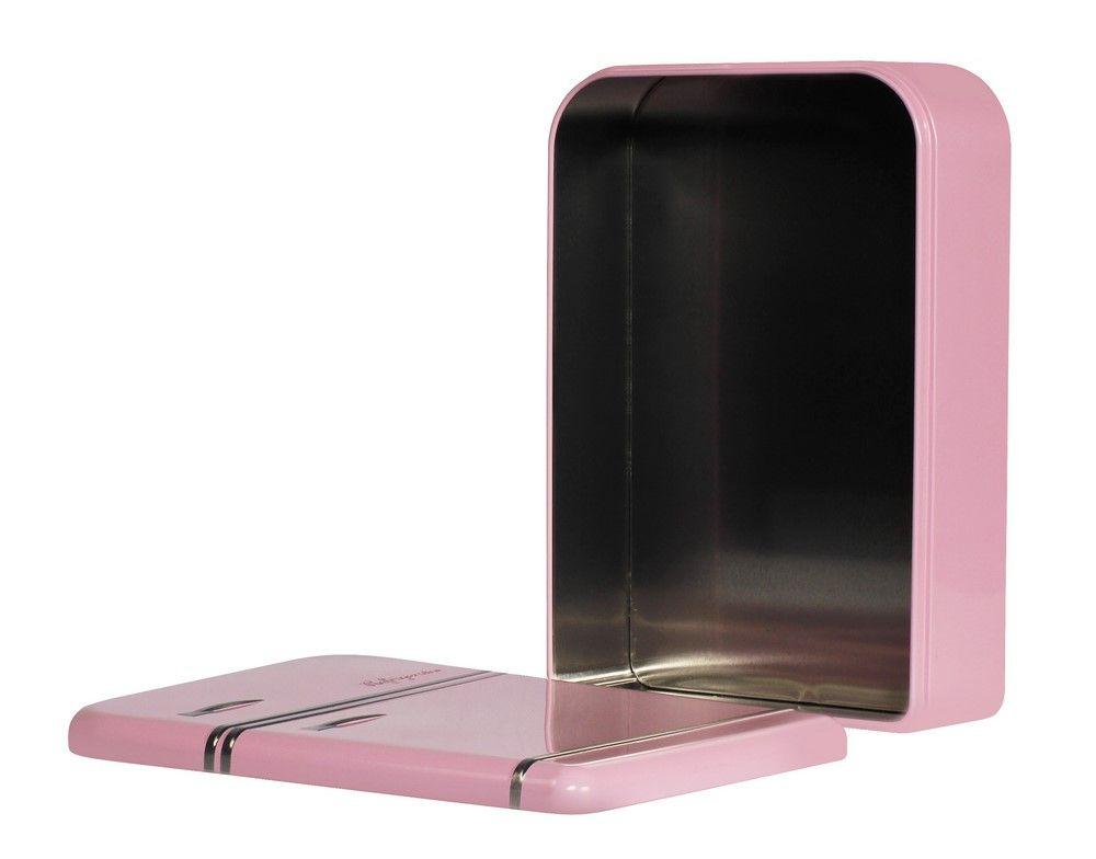 Úložná krabička lednice 25cm, růžová