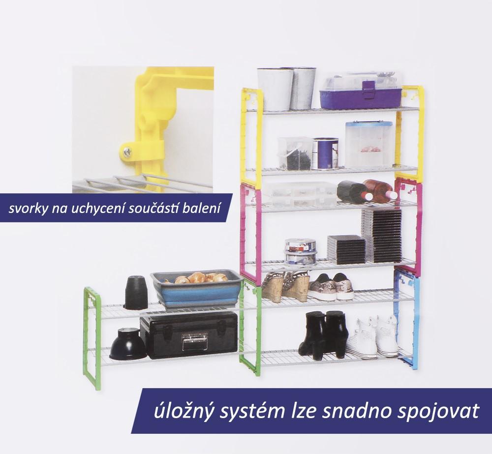 Úložný systém, žlutá