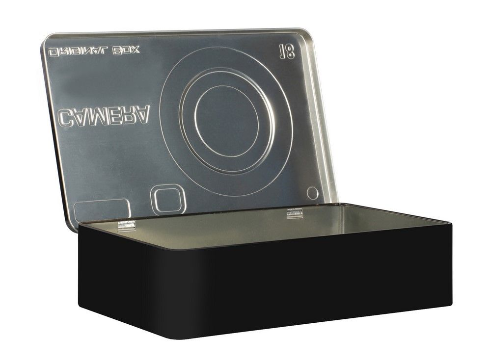 Deco box 27 cm, kamera
