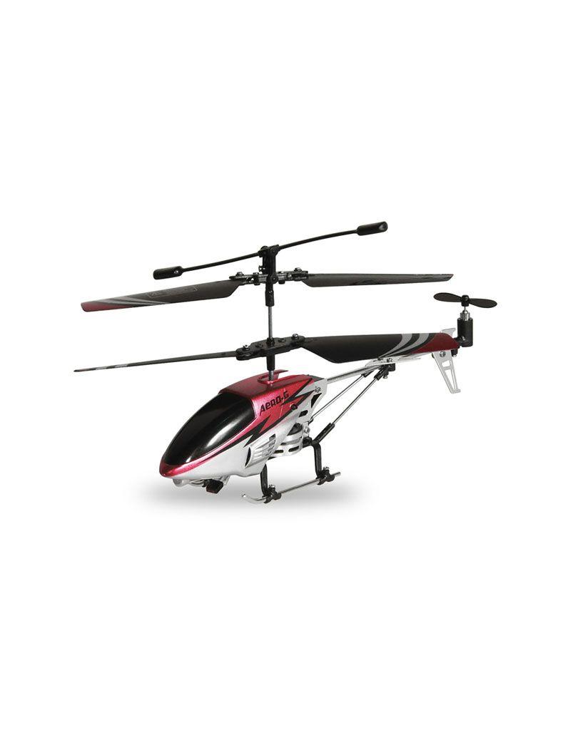 RC helikoptéra, červená