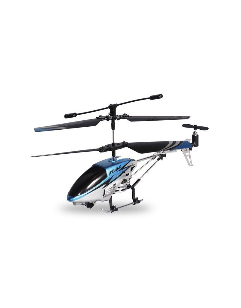 RC helikoptéra, modrá