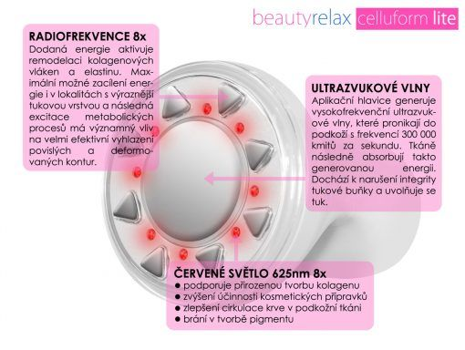 Estetický přístroj BeautyRelax Celluform Lite
