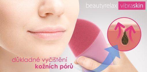 Kosmetický přístroj BeautyRelax Vibraskin