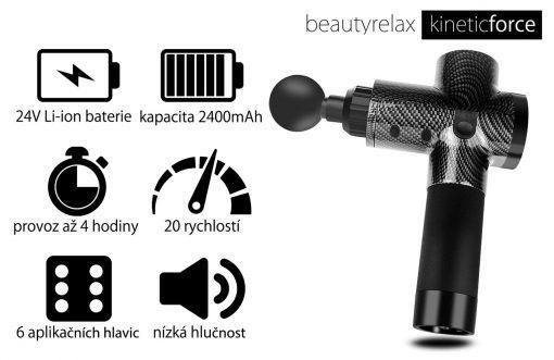 Masážní přístroj BeautyRelax Kineticforce