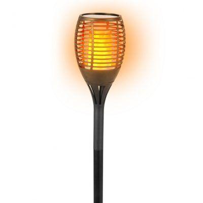 Solární zahraní světlo imitace přirozeného plamene Timelife 77x12cm