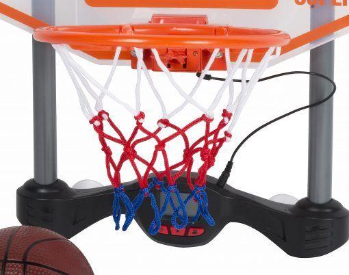 Basketbalový koš Dunlop zvukové efekty 58x35cm