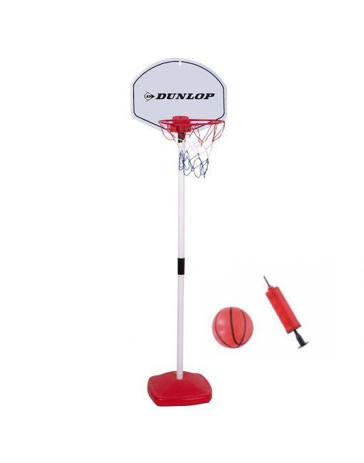 Basketbalový koš míč pumpička Dunlop 117cm