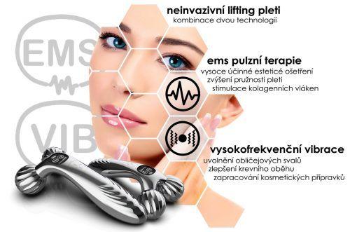 Kosmetický přístroj BeautyRelax Emsroller
