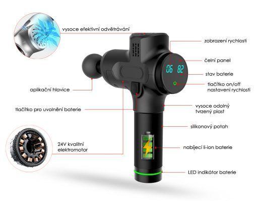 Masážní přístroj Beautyrelax Kineticforce Smart