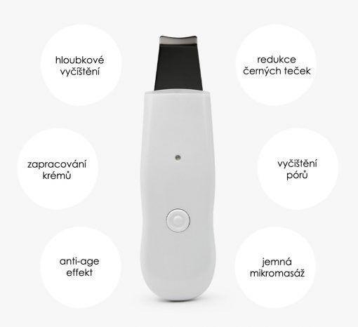 Ultrazvuková špachtle BeautyRelax Peel&lift Compact