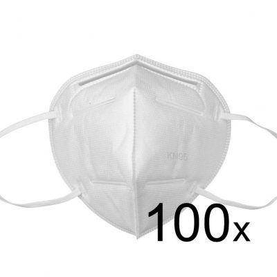 Ochranná maska FFP2 KN95 respirační rouška 100ks