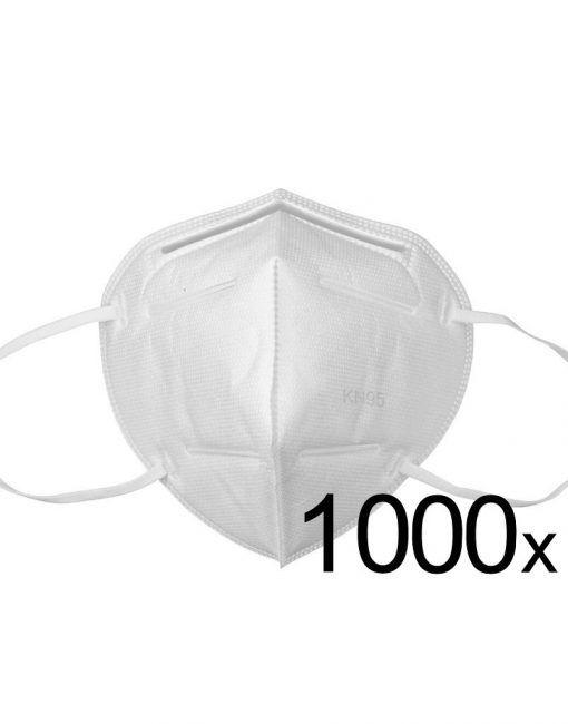 Ochranná maska FFP2 KN95 respirační rouška 1000ks