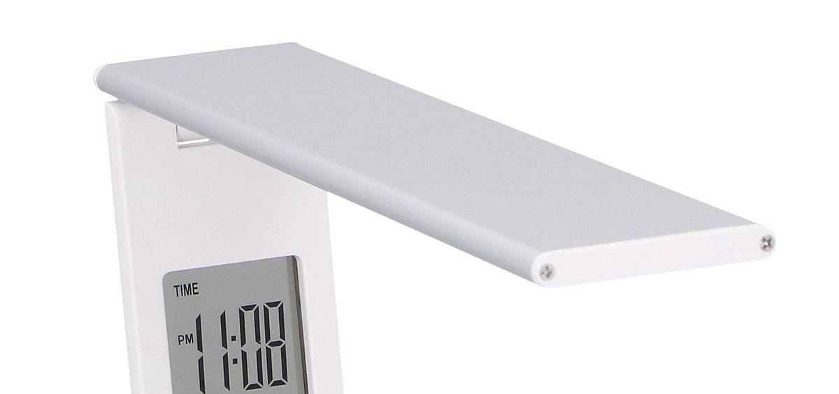 Stolní lampa 29LED hodiny teploměr kalendář Timelife