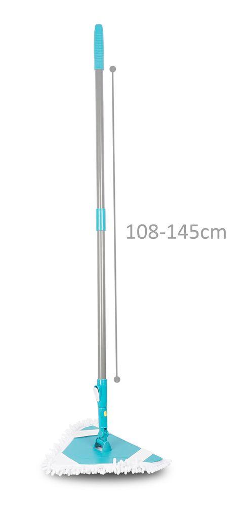 Mop na podlahu trojúhelníkový teleskopická tyč Timelife 108-145cm