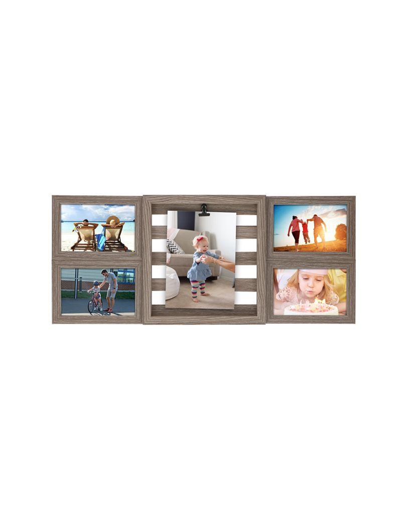 Fotorámeček Timelife 56x23,5x2,5cm dřevěný