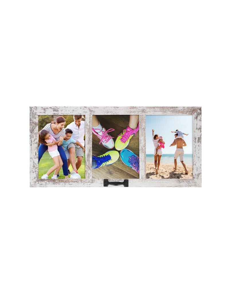 Fotorámeček Timelife 51x24x3,4cm dřevěný